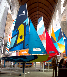 CityOne racing dinghies built at Ilen School Limerick Ireland