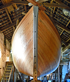 rebuilding Ilen sailing ship limerick Ireland, Conor O'Brien