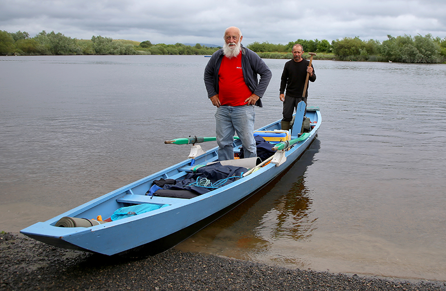 09-07-15: River Shannon Adventure on a Small Cot