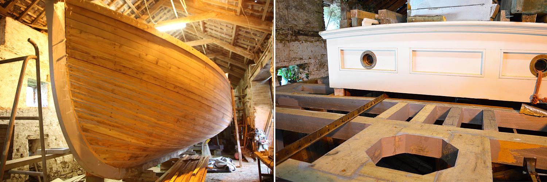 wooden boat building Ilen School limerick