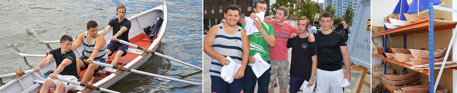 boat handling and rowing for limerick's youth Ilen School