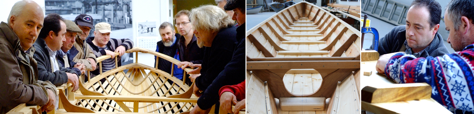 Ilen School and network for wooden boat building Limerick Ireland