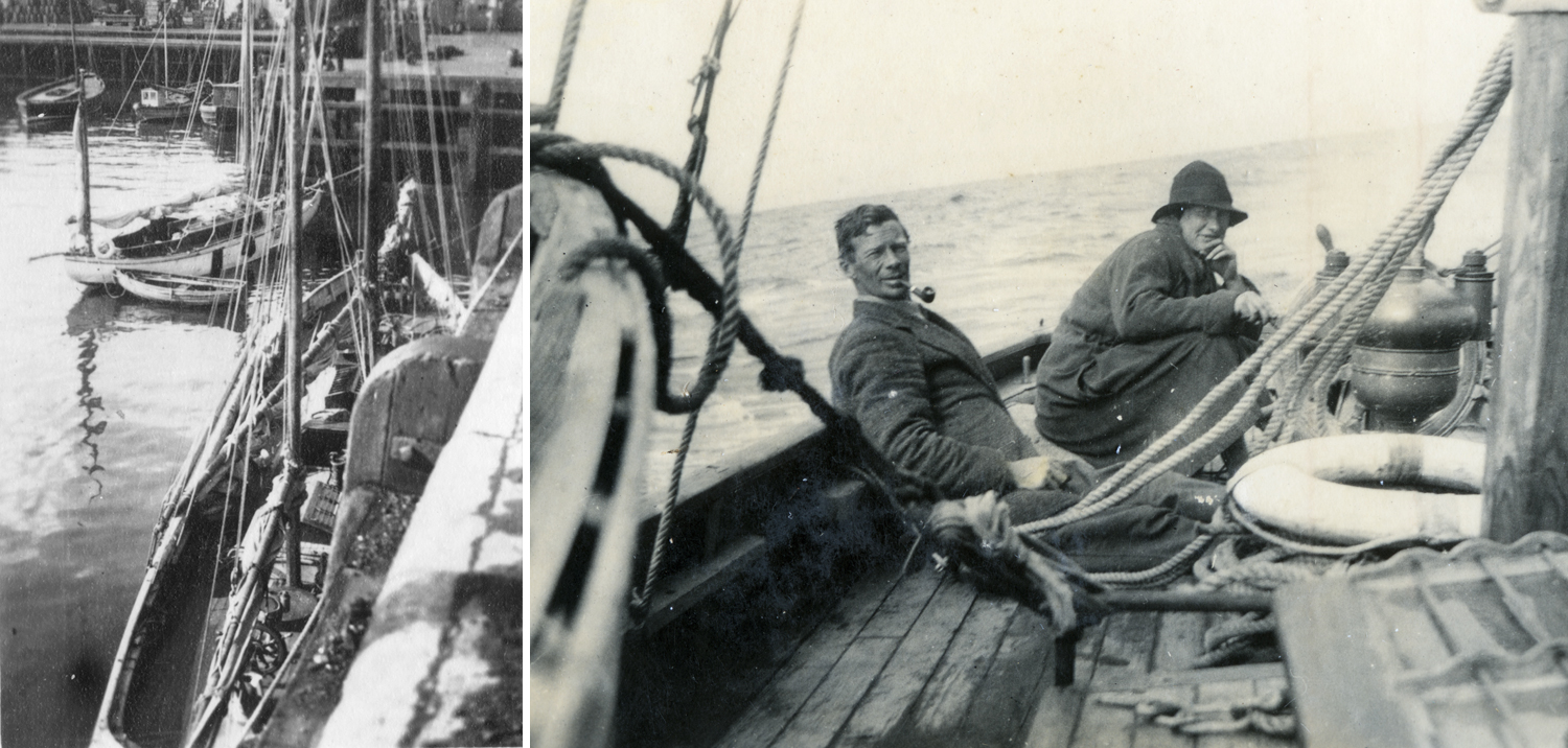 Conor O'Brien, Sailor, Kelpie, Gun Running Ireland with Erskin Childers aboard the Asgard