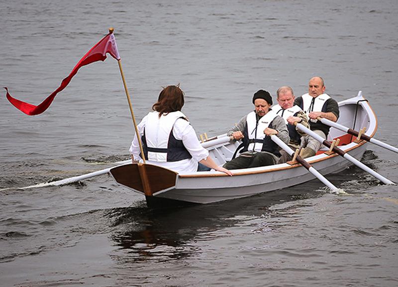 gandelow wooden boatbuilding Ilen School Limerick Ireland