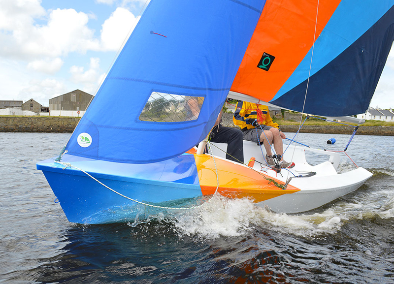 CityOne Racing Dinghy Ilen School Limerick Ireland Boat Building