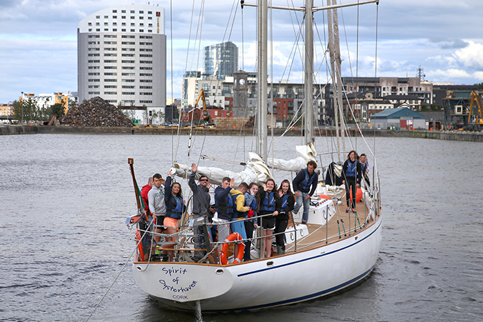 10-07-15: Ilen's first sail training programme