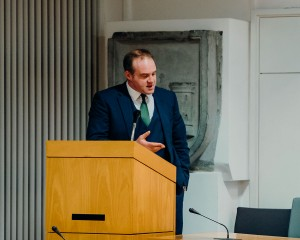 Cllr Emmet O'Brien, Ilen Project Mayoral Reception