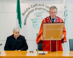 Michael Sheahan - Mayor of the City and County of Limerick, Ilen Project Mayoral Reception