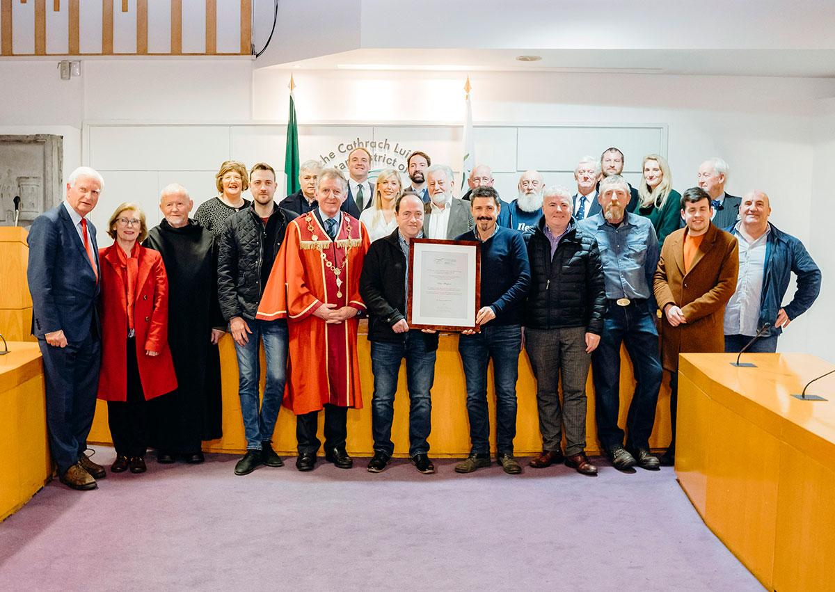 Limerick City honours Ilen Project at Mayoral Reception